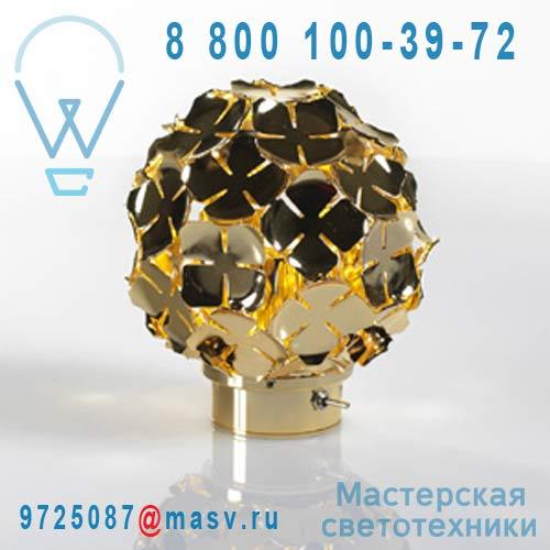 "OM50BH8C8 Lampe rechargeable Or - ORTEN""ZIA Terzani"