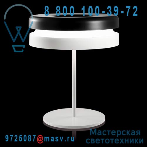 K954BNEU Lampe Noir et Blanc - TORIC Kundalini