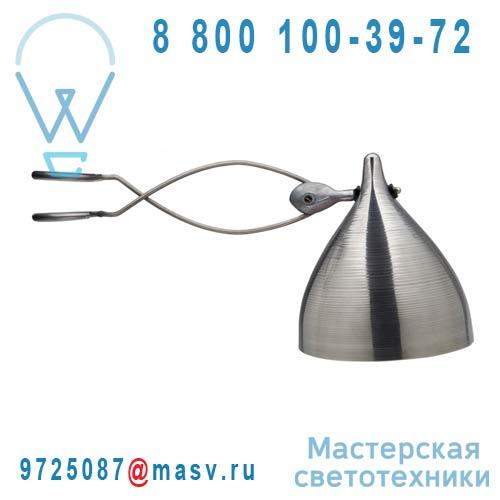 0709 Lampe a pince aluminium - CORNETTE Tse & Tse