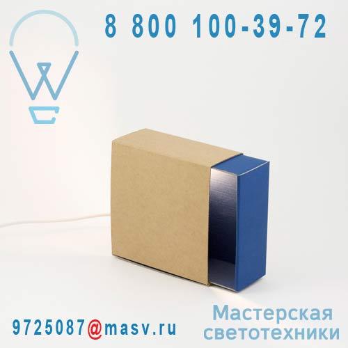 326050 Lampe Bleu fonce - BOITE A LUMIERE adonde