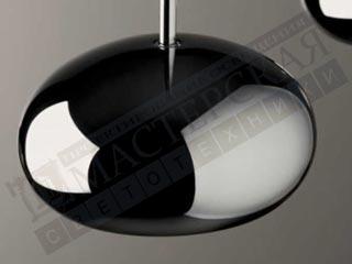 De Majo подвесной светильник Boa S6D хром-серый