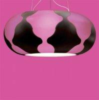 Подвесной светильник Alt Lucialternative FLAN S cremisi / nero