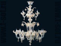 Большие люстры Arte Di Murano, 6673/8+4