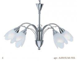 Светильник (Люстра) Arte Petal A4905LM-5SS
