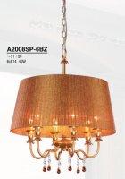 Светильник (Люстра) Arte Allegro A2008SP-6BZ