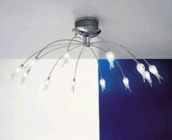 Потолочные светильники Auerliano Toso ZASHI 12 LUCI PAR/SOF