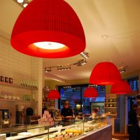 Axo Light Bell SP BEL 180 rosso / bianco