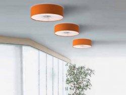 Потолочный светильник Axo Light Skin PL SKI 070 arancio / bianco