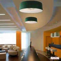 Потолочный светильник Axo Light Velvet PL VEL 100 verde / bianco