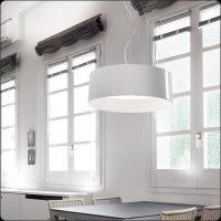 Подвесной светильник Bover CALA 4132622 Красный лакированный