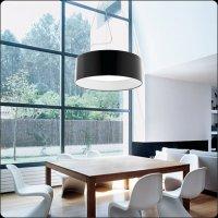 Подвесной светильник Bover CALA 4132623 Черный лакированный