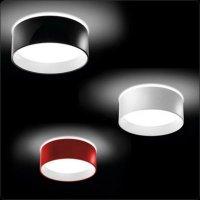 Потолочный светильник Bover CALA 5132622 Красный лакированный
