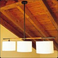 Подвесной светильник Bover DANONA 3 LUCES 4323160 Темный никель