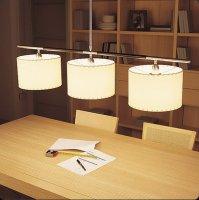 Подвесной светильник Bover DANONA 3 LUCES 4323161 Никель
