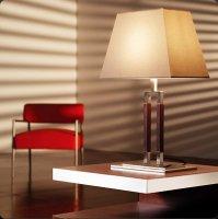 Настольная лампа Bover EMA 2119405 Матовый никель