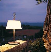 Настольная лампа Bover FERRARA MINI 2124203 Коричневое железо