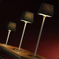 Настольная лампа Bover GIBSI 02 2118204 Черное железо