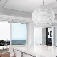 Подвесной светильник Bover GLO 322P702 Никель-белый