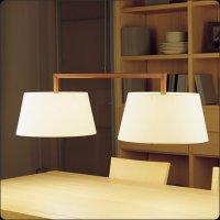 Подвесной светильник Bover LUA 2 LUCES 4222961 Никель