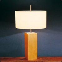 Настольная лампа Bover MANI MESA 2128514 Никель-ореховое дерево