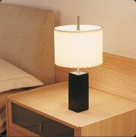 Настольная лампа Bover MANI MINI 2028514 Никель-ореховое дерево