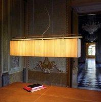 Подвесной светильник Bover MAR 4324405 R Никель-красный провод