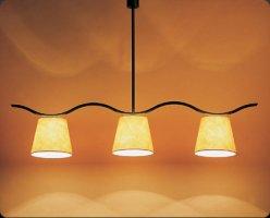 Подвесной светильник Bover ONA 3 LUCES 4319004 Черное железо