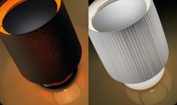 Настольная лампа Bover ONNE 2210621 Белый
