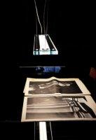 Подвесной светильник Bover PLANA PLUS S140 Dimm серый
