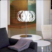 Настольная лампа Bover ROLANDA-T 2222511 Белый хром