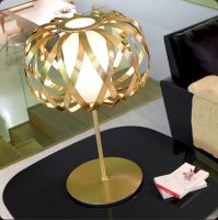 Настольная лампа Bover ROLANDITA-Т 2122509 Матовое золото