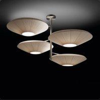 Подвесной светильник Bover SIAM 4 LUCES 4432005 Матовый никель