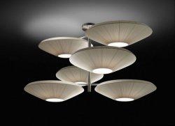 Подвесной светильник Bover SIAM 6 LUCES 4632005 Матовый никель