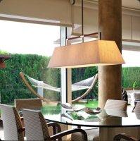 Подвесной светильник Bover TAU 1 LUZ 4323905 Матовый никель