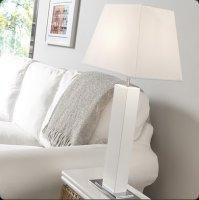 Настольная лампа Bover TAU MADERA 2123901 Никель-белый
