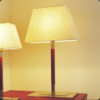 Настольная лампа Bover TAU MESA 2223905 Матовый никель-хром