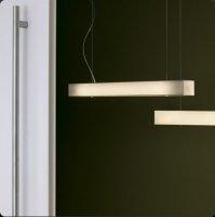 Подвесной светильник Bover TEKNO LP2 4318803 Белый хлопок