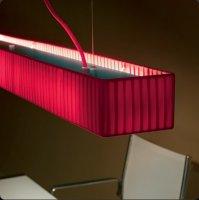 Подвесной светильник Bover TEKNO LP2 4318804 Красный