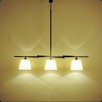 Подвесной светильник Bover TOUS 3 LUCES 4323404 Черное железо