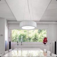 Подвесной светильник Bover URBAN 01 410132506 C Хром-кремовый