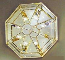 Потолочные светильники Cremasco, 1025/8 cris/cr