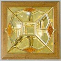 Потолочные светильники Cremasco, 1028/2LN cris/a