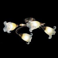 Потолочные светильники Cremasco, 555/4PL brunito