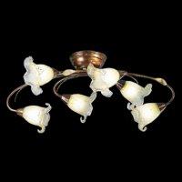Потолочные светильники Cremasco, 556/6PL brunito