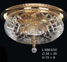 светильник подвесной ELITE BOHEMIA L 689/3/00