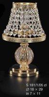Настольная лампа ELITE BOHEMIA S 181/1/05 ZL