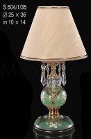 Настольная лампа ELITE BOHEMIA S 504/1/35