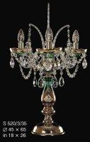 Настольная лампа ELITE BOHEMIA S 520/3/35