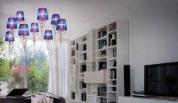 Подвесной светильник Morosini Evi Style Gadora SO9 Blue Violet