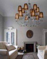 Люстра Morosini Evi Style Hermitage LA12 Golden Teak